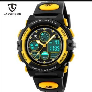 LAVAREDO Children Sports Watches Fashion LED Quart